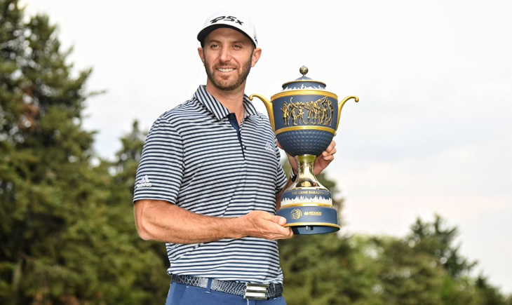 Dustin Johnson WITB