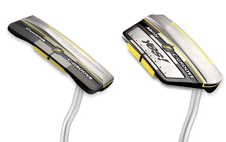 Yes! True Alignment Putters Sole View