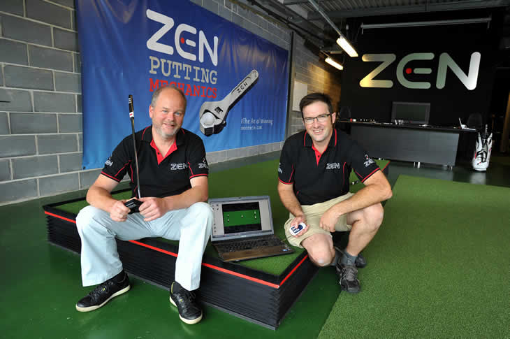 Zen Green Stage Putting Practice Aid
