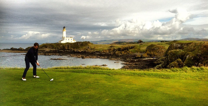 Bruces Castle. 9th Hole Turnberry Ailsa