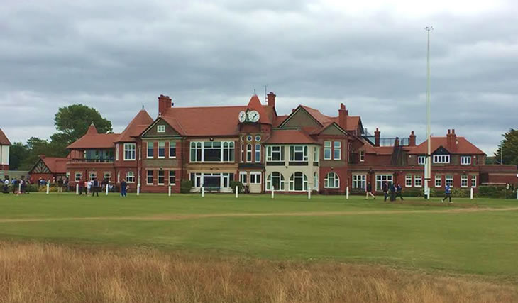 Royal Liverpool Golf Club Clubhouse