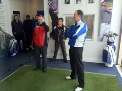 Gary Orr At Mizuno Fitting Centre