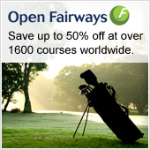 Save up to 50% off at over 1600 courses worldwide