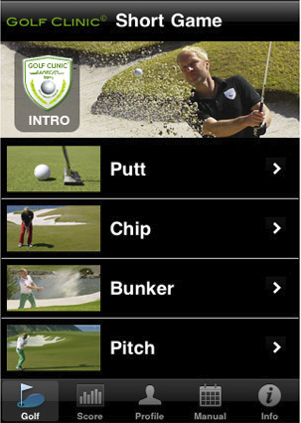 Golf Clinic Short Game app