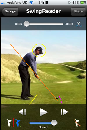 Swing Reader Golf Swing Analyzer Golf App
