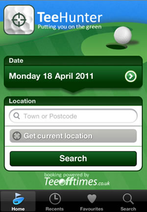 Trueridge Tee Hunter Golf App