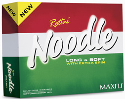 Maxfli Noodle Rotini Golf Ball
