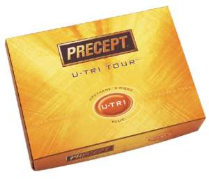 Precept U-Tri Tour Golf Ball
