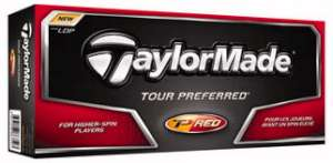 TaylorMade 08 TP Red Golf Ball
