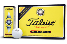 Titleist NXT 2007 Golf Ball