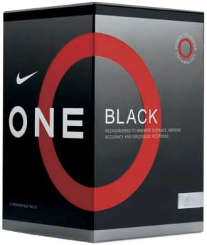 Nike 08 One Black Golf Ball