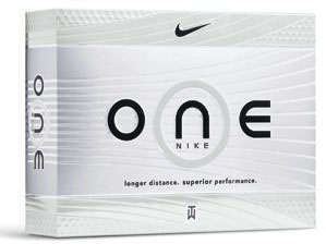 Nike One Platinum Golf Ball