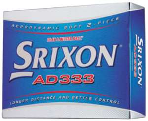 Srixon AD333 2008 Golf Ball