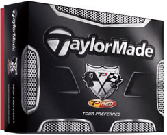 TaylorMade TP Red Golf Ball