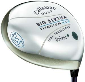 Callaway Big Bertha Titanium 454 Ladies Driver