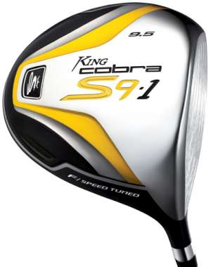 Spotted! 2009 cobra s9 pro s driver.