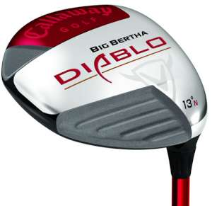 Callaway Big Bertha Diablo 7 Wood Graphite Shaft Fairway Wood