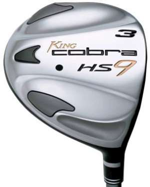 Cobra HS9 3 Wood Graphite Shaft Fairway Wood