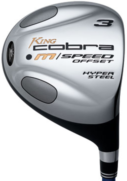 Cobra M/Speed Offset 9 Wood Steel Shaft Fairway Wood