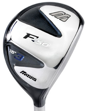 Mizuno F-50 3 Wood Steel Shaft Fairway Wood