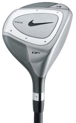 Nike T-40 Tour Strong 3 Wood Steel Shaft Fairway Wood
