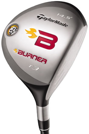 TaylorMade Burner Tour Launch T5 Graphite Shaft Fairway Wood