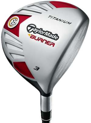 TaylorMade Burner Ti 5 Wood Graphite Shaft Fairway Wood