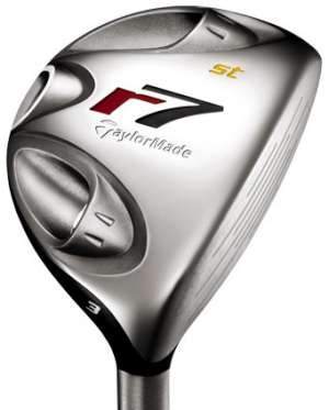 TaylorMade r7 Steel 4 Wood Steel Shaft Fairway Wood