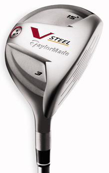 TaylorMade V-Steel II 7 Wood Graphite Shaft Fairway Wood