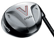 TaylorMade V-Steel Ladies 9 Wood Steel Shaft Fairway Wood