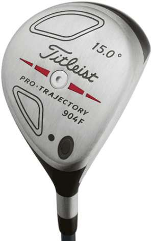 Titleist 904F 15' Steel Shaft Fairway Wood