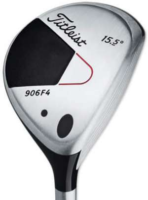 Titleist 906F4 15.5' Steel Shaft Fairway Wood