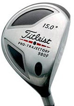 Titleist 980F 15' Graphite Shaft Fairway Wood