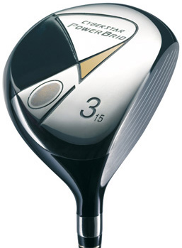 Yonex Cyberstar PowerBrid Strong 3 Wood Graphite Shaft Fairway Wood