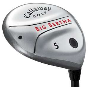 Callaway Big Bertha Steel Fairway Wood