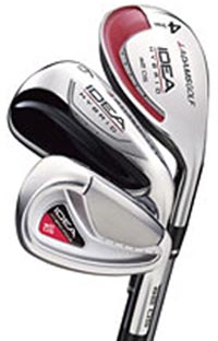 Adams Idea A2 OS Steel Shaft Iron