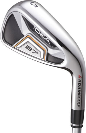 Adams Idea a7 Graphite Shaft Iron