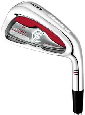 Cleveland CG Red Steel Shaft Iron