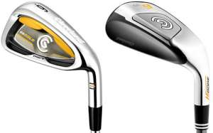 Cleveland HiBore/Gold Combo Steel Shaft Iron