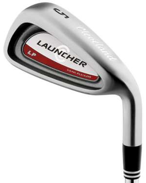 Cleveland Launcher LP Steel Shaft Iron