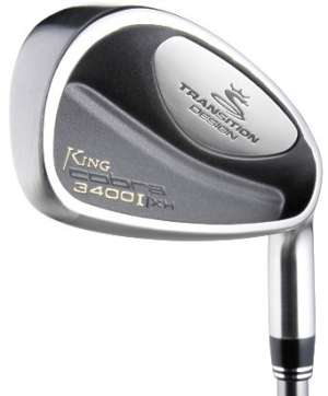 Cobra 3400 I/XH Steel Shaft Iron