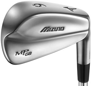 Mizuno MP-68 Black Nickel Iron
