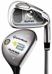 TaylorMade Burner Plus Combo Ladies Graphite Shaft Iron