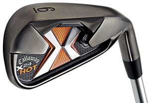 Callaway golf® 11-piece x24 set with stiff flex 9. 5° driver.