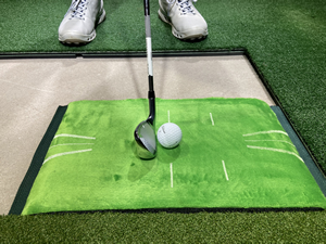 Acu-Strike Golf Impact Training Mat Golf Practice Aid