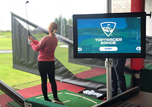 Toptracer Manchester Driving Range Golf Practice Aid