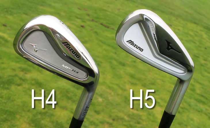 Mizuno MP-H5 MP-4 Compare