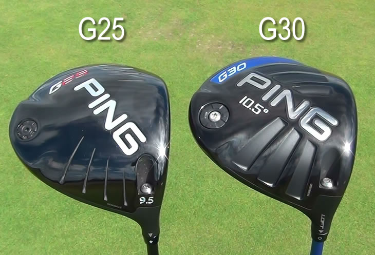 Ping G30 G25 Driver Comparison