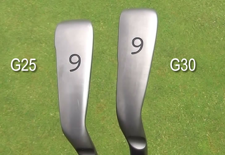 Ping G30 Iron sole