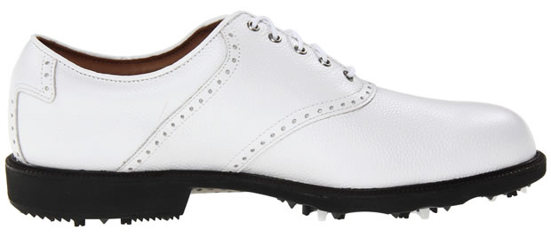 FootJoy Contour Golf Shoes CLOSEOUT Brown/White 54002 Mens New